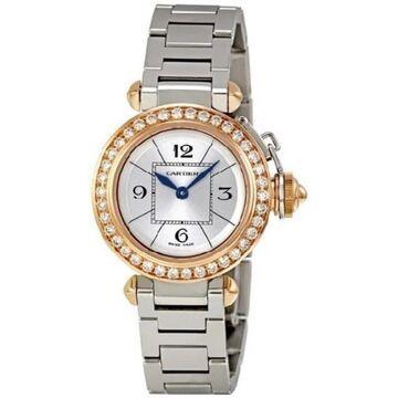 Cartier Women's WJ124021 'Pasha' Stainless Steel Watch