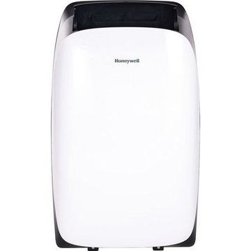 Honeywell Portable Air Conditioner with Heater, Dehumidifier & Fan Cools Rooms Up To 700 Sq. Ft. with Remote Control (White and Black)