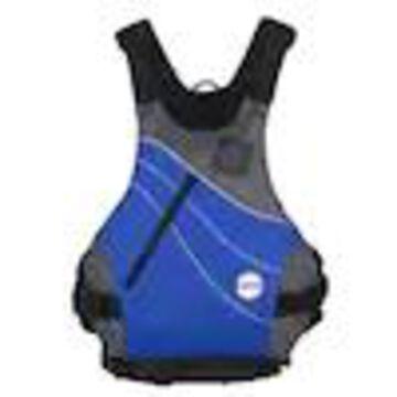 NRS Vapor Adult XX-Large PFD Type III Foam Boating Kayak Life Jacket Vest, Blue