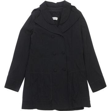 Rochas Black Cotton Coats