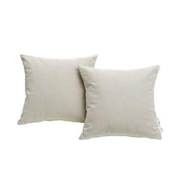 Modway Summon 2 Piece Outdoor Patio Pillow Set