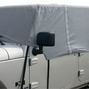 Rampage 1264 Cab Cover; 4 Layer; Gray;