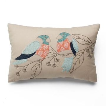SONOMA Goods for Life Patchwork Bird Throw Pillow