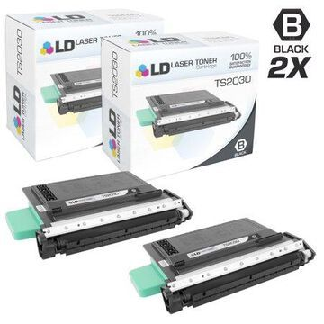 LD Compatible Toner Cartridge Replacement for Muratec MFX-2050 TS2030 (Black, 2-Pack)