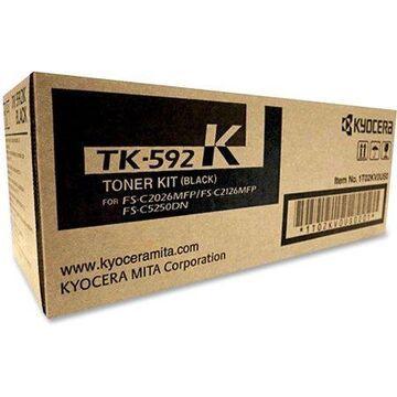 Kyocera, KYOTK592K, FS-2026MFP Toner Cartridge, 1 / Each