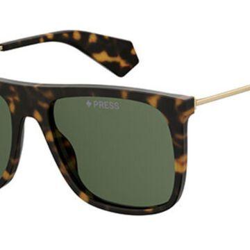 Polaroid PLD 6046/S/X Polarized 086/UC Men's Sunglasses Tortoiseshell Size 56