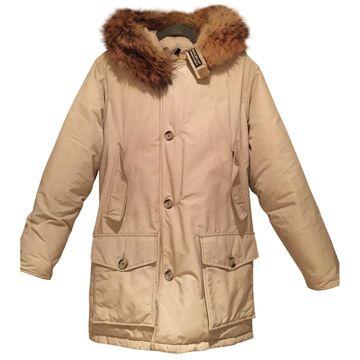 Woolrich Beige Synthetic Coats