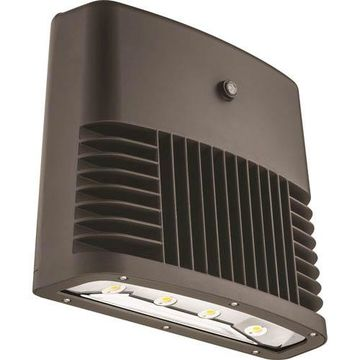 OLWX2 LED 150W 40K 120 PE DDB M2 Bronze Outdoor LED Low Profile Wall Pack