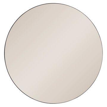 Ren-Wil Prospect 39.5-Inch Round Mirror in Sepia