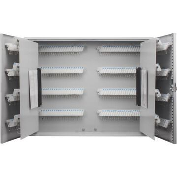 Barska 480 Key Lock Box with White Tags Grey