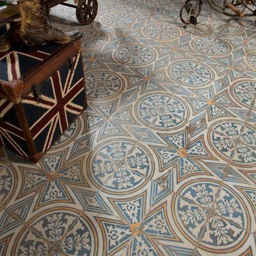 SomerTile 17.63x17.63-inch Royals Flatlands Ceramic Floor and Wall Tile (5 tiles/11.02 sqft.)