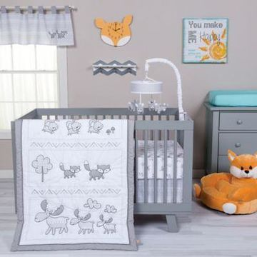 Trend Lab Aztec Forest 3-Piece Crib Bedding Set