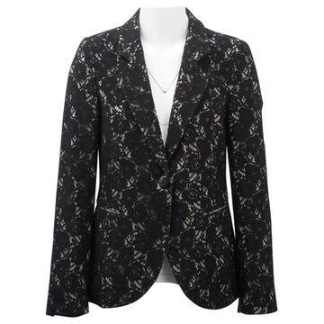 Emporio Armani Black Cotton Jackets