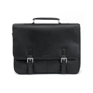 Kenneth Cole Reaction Manhattan Leather Laptop Briefcase