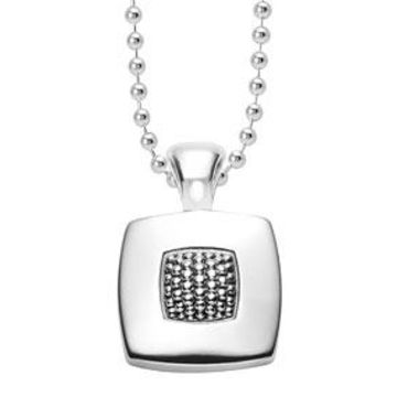 Imagine Square Pendant Necklace