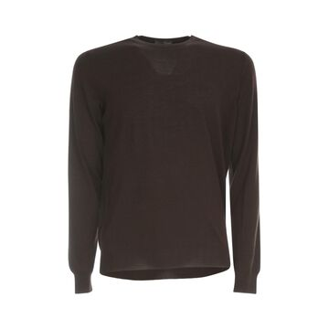 Drumohr Wool Modern Sweater L/s Crew Neck