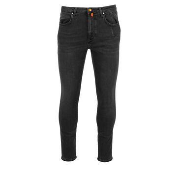 Jeckerson Pantal. Uomo Con Intarsio Jeans