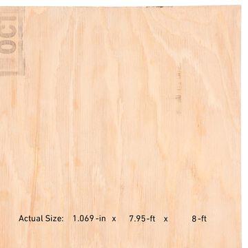 ReliaBilt 1-1/8-in x 4-ft x 8-ft Douglas Fir Plywood Underlayment | 231516