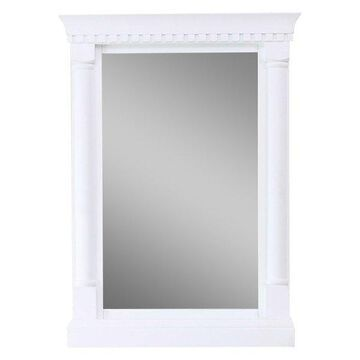 Legion Furniture Corrine Mirror, Matte White, 24