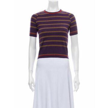 Virgin Wool Striped Sweater Wool