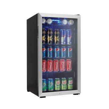 ''Danby 120 Can Beverage Center, Stainless Steel DBC120BLS 1''