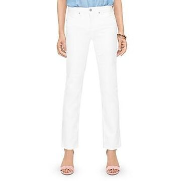 Nydj Sheri Slim Jeans in Optic White