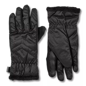 Women's isotoner Insulated Water Repellent Quilted Gloves