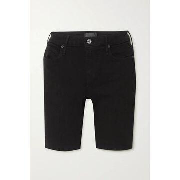 RtA - Toure Denim Shorts - Black