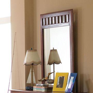 Cambridge Dresser Mirror in Merlot
