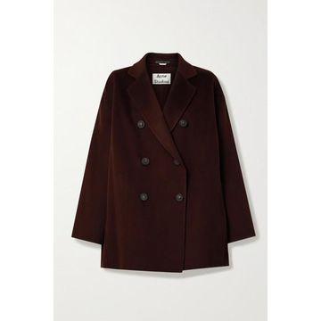 Acne Studios - Double-breasted Wool Coat - Merlot