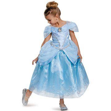 Disguise Cinderella Prestige Child Costume-X-Small (3T-4T)