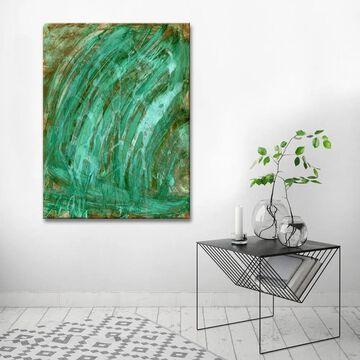 Ready2HangArt 'Waterfall' Abstract Canvas Wall Art