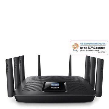 Linksys EA9500 Max-Stream Gigabit MU-MIMO Wi-Fi Router, Black, (AC5400)
