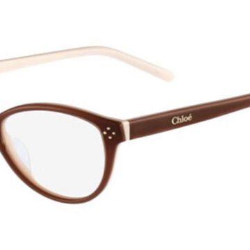 Chloe CE 2637 905 Womenas Glasses Brown Size 52 - Free Lenses - HSA/FSA Insurance - Blue Light Block Available