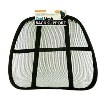 Bulk Buys Mesh Back Support Rest - Pack of 10