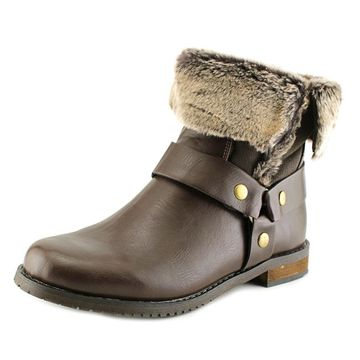 Wanderlust Womens Sarina Cap Toe Ankle Cold Weather Boots