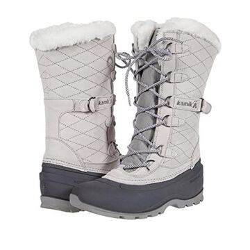 Kamik Snovalley 3 (Light Grey) Women's Boots