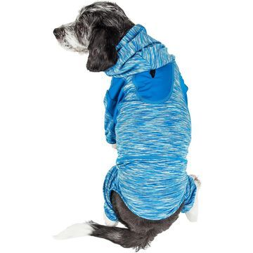 Pet Life Full Body Warm Up Active Dog Hoodie