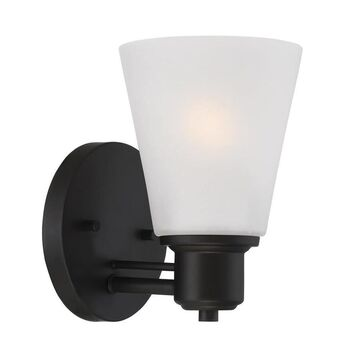 Designers Fountain Printers Row 5-in W 1-Light Oil Rubbed Bronze Modern/Contemporary Wall Sconce
