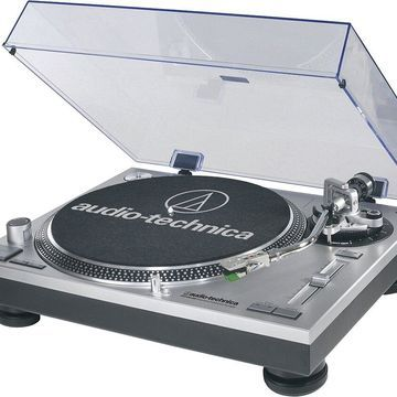 Audio-Technica - Professional Turntable - Silver