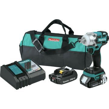 Makita 1/2 in. Impact Wrench Kit XWT11R New
