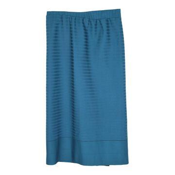 Issey Miyake Blue Polyester Skirts