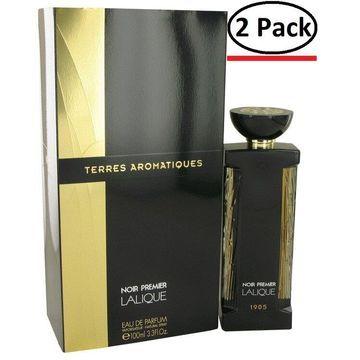 Terres Aromatiques by Lalique Eau De Parfum Spray 3.3 oz for Women (Package of 2)