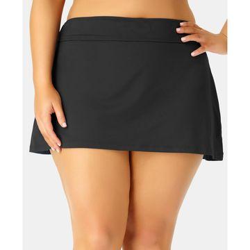 Plus Size Basic Swim Skirt