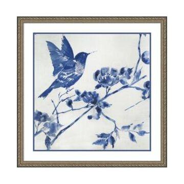 Amanti Art Porcelain Hummingbird Framed Art Print