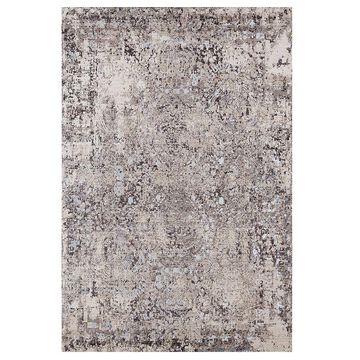 United Weavers Soignee Birmingham Floral Rug, Brown, 2.5X8 Ft
