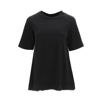 Simone Rocha Embellished A-line T-shirt