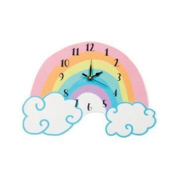 Trend Lab Rainbow Wall Clock Bedding