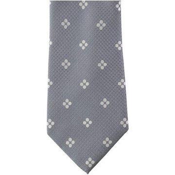 Sean John Mens Grid Fot Self-tied Necktie