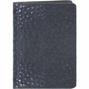 Scully Genuine Leather Desk Size Weekly Planner, 5.5 x 7.75 in. , 1045-0-51-F